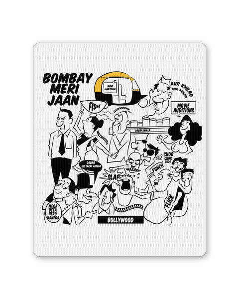 PosterGuy | Bombay Meri Jaan Comic Art Mouse Pad 1503038316 Online India