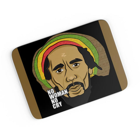 No Woman No Cry | Bob Marley A4 Mousepad Online India