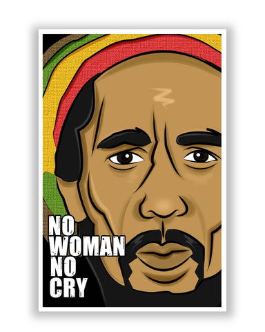 Posters | No Woman No Cry | Bob Marley Poster Online India