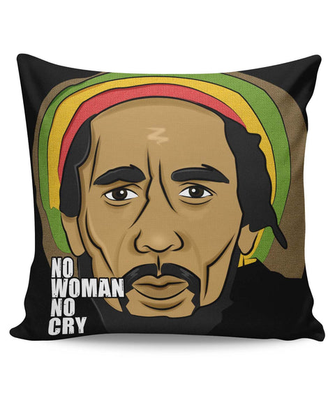 PosterGuy | No Woman No Cry | Bob Marley Cushion Cover Online India