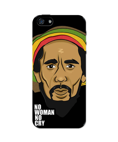 iPhone 5 / 5S Cases| No Woman No Cry | Bob Marley iPhone 5 / 5S Case 1503047317 Online India