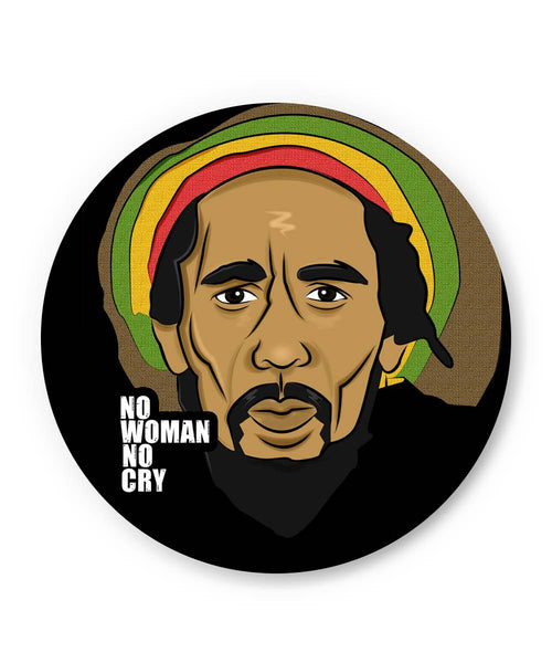 Coasters | No Woman No Cry | Bob Marley Coaster 1503047319 Online India | PosterGuy.in