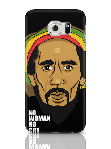 Samsung Galaxy S6 Covers & Cases | No Woman No Cry | Bob Marley Samsung Galaxy S6 Covers & Cases Online India