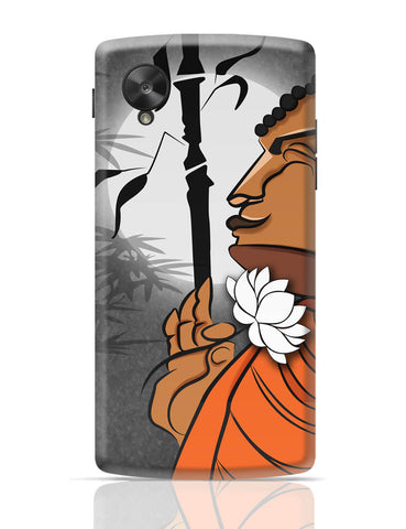 Google Nexus 5 Covers | Blissful Lord Buddha Meditating Google Nexus 5 Cover Online India