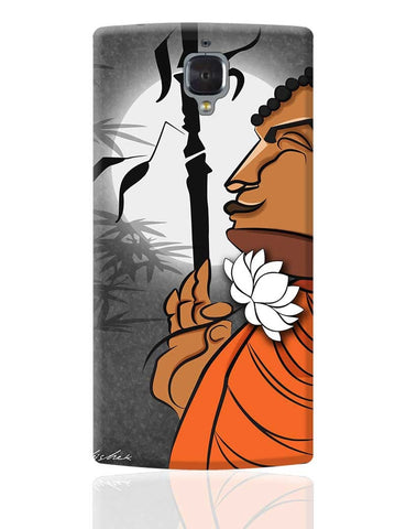 Blissful Lord Buddha Meditating OnePlus 3 Cover Online India