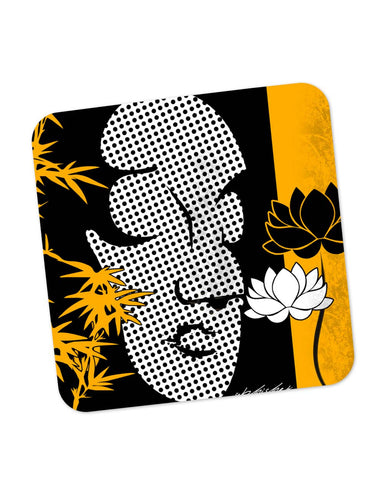 Coasters | Buddha Peaceful Bliss Coaster 1503064529 Online India | PosterGuy.in