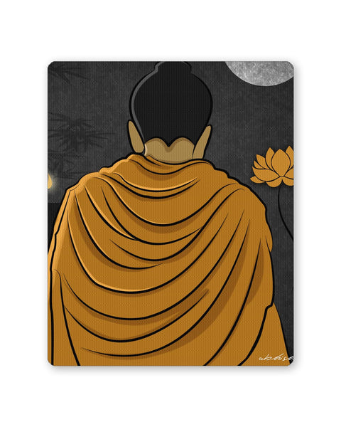 Buy Mousepads Online India | Lord Buddha Back Mouse Pad Online India