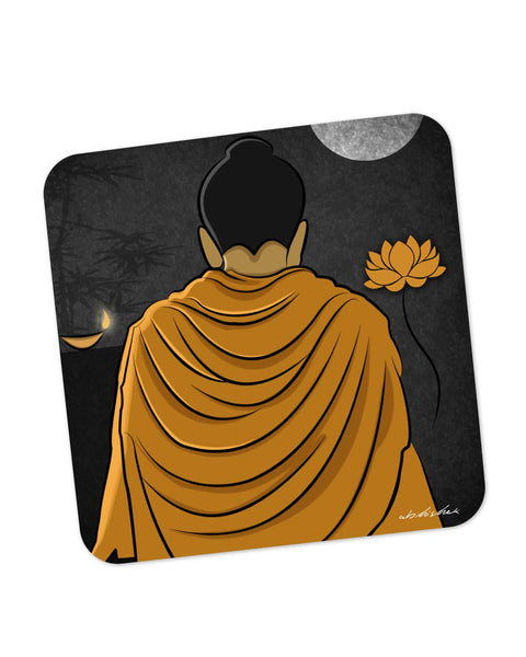 Buy Coasters Online | Lord Buddha Back Coaster Online India | PosterGuy.in