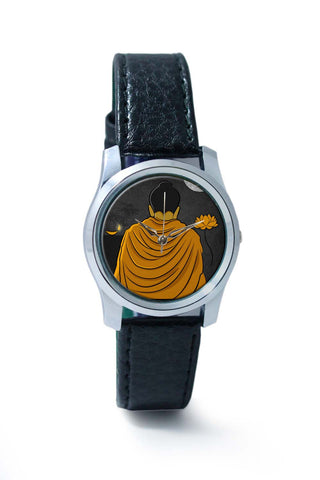 Women Wrist Watches India | Lord Buddha Back  Wrist Watch Online India