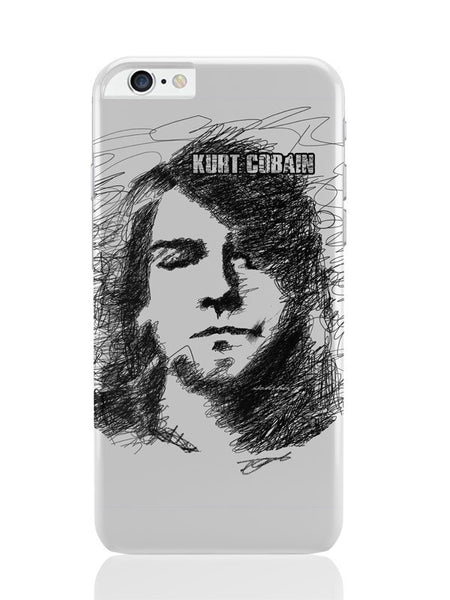 iPhone 6 Plus / 6S Plus Covers & Cases | Kurt Cobain Sketch Illustration iPhone 6 Plus / 6S Plus Covers and Cases Online India