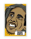 Posters Online | Baba Bob Marley Sacha Rasta Poster Online India | Designed by: GraphiKartoon