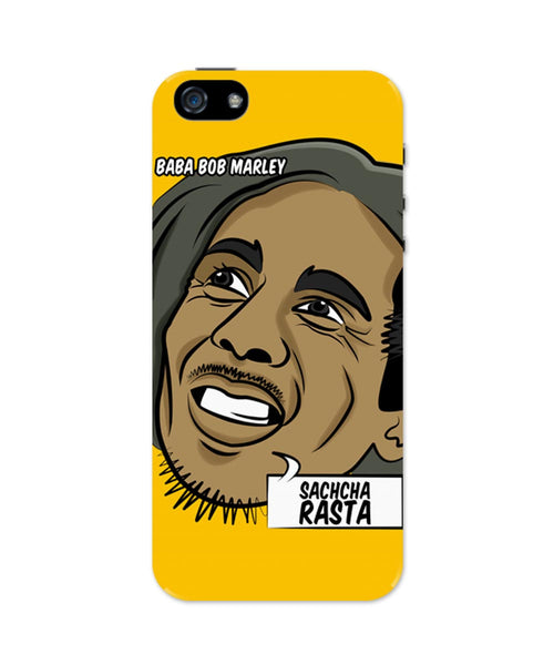 iPhone 5 / 5S Cases & Covers | Baba Bob Marley Sacha Rasta iPhone 5 / 5S Case Online India