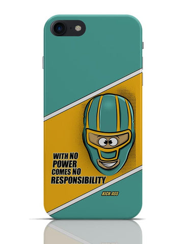 With No Power Comes No Responsibility | Funny  iPhone 7 Covers Cases Online India