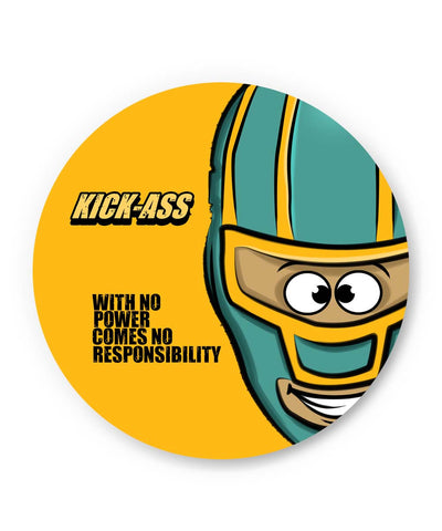 PosterGuy | With No Power Comes No Responsibility | Funny Fridge Magnet Online India by GraphiKartoon