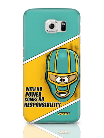 Samsung Galaxy S6 Covers & Cases | With No Power Comes No Responsibility | Funny Samsung Galaxy S6 Covers & Cases Online India