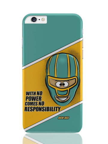 iPhone 6 Plus / 6S Plus Covers & Cases | With No Power Comes No Responsibility | Funny iPhone 6 Plus / 6S Plus Covers and Cases Online India