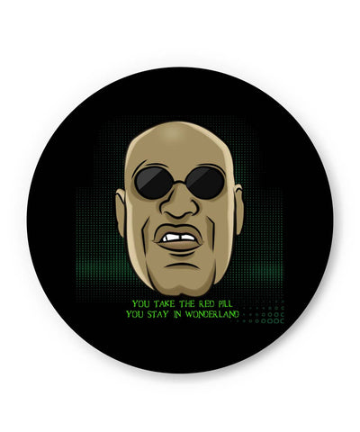 PosterGuy | You Take The Red Pill Quote | Morpheus Matrix Fan Art Fridge Magnet Online India by GraphiKartoon