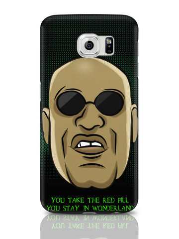 Samsung Galaxy S6 Covers & Cases | You Take The Red Pill Quote | Morpheus Matrix Fan Art Samsung Galaxy S6 Covers & Cases Online India