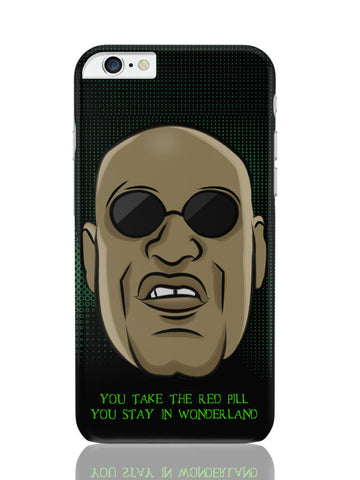 iPhone 6 Plus / 6S Plus Covers & Cases | You Take The Red Pill Quote | Morpheus Matrix Fan Art iPhone 6 Plus / 6S Plus Covers and Cases Online India