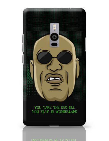 OnePlus Two Covers | You Take The Red Pill Quote | Morpheus Matrix Fan Art OnePlus Two Cover Online India