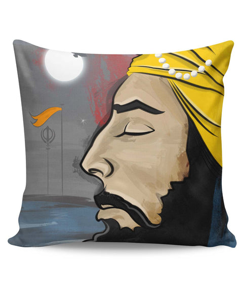 PosterGuy | Raj Karega Khalsa | Illustration Cushion Cover Online India