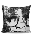 PosterGuy | Guns And Roses Graphic Art Cushion Cover Online India