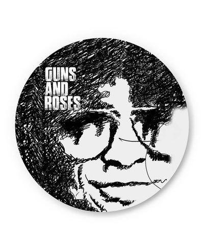 PosterGuy | Guns And Roses Graphic Art Fridge Magnet Online India by GraphiKartoon