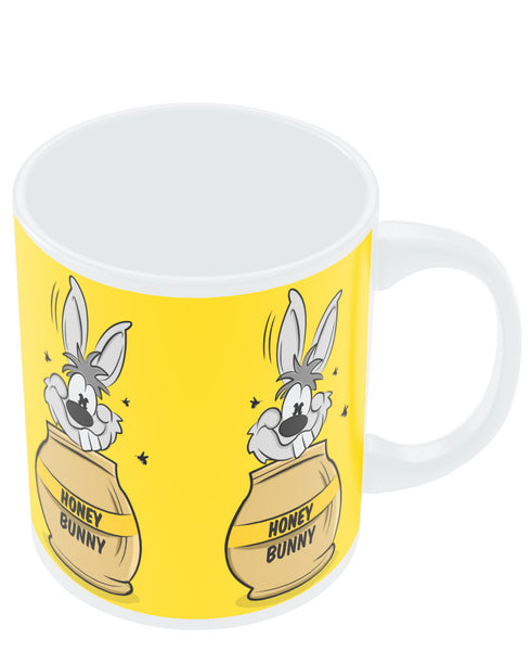 Coffee Mugs Online | Honey Bunny Funny Rabbit Graphic Cartoon Mug Online India