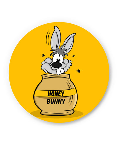 PosterGuy | Honey Bunny Funny Rabbit Graphic Cartoon Fridge Magnet Online India by GraphiKartoon