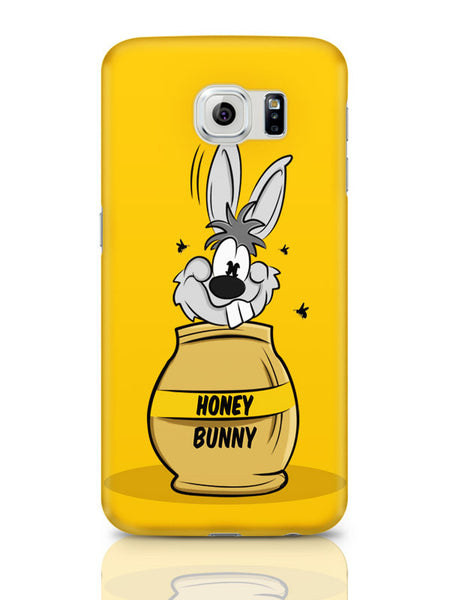 Samsung Galaxy S6 Covers | Honey Bunny Funny Rabbit Graphic Cartoon Samsung Galaxy S6 Cover Online India