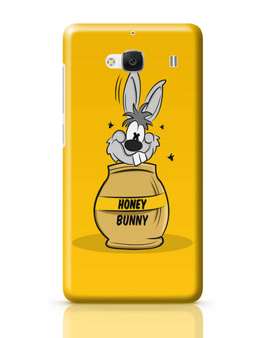 Xiaomi Redmi 2 / Redmi 2 Prime Cover| Honey Bunny Funny Rabbit Graphic Cartoon Redmi 2 / Redmi 2 Prime Cover Online India