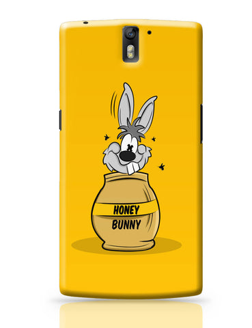 OnePlus One Covers | Honey Bunny Funny Rabbit Graphic Cartoon OnePlus One Cover Online India