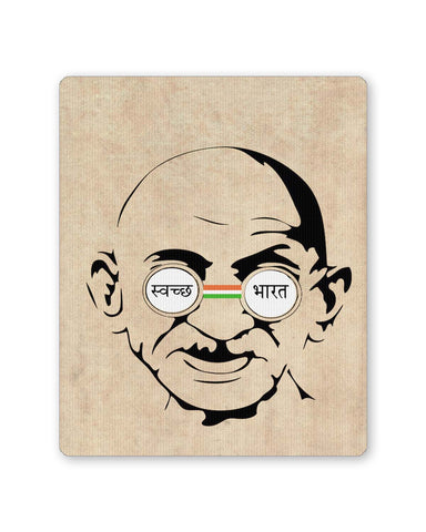 PosterGuy | Swachh Bharat Mahatma Gandhi Mouse Pad 1513076016 Online India