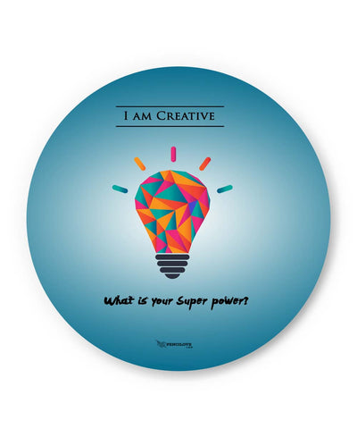 PosterGuy | What is Your Superpower Motivational Fridge Magnet 1513116019 Online India