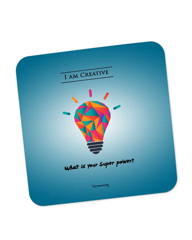 Coasters | What is Your Superpower Motivational Coaster 1513116029 Online India | PosterGuy.in