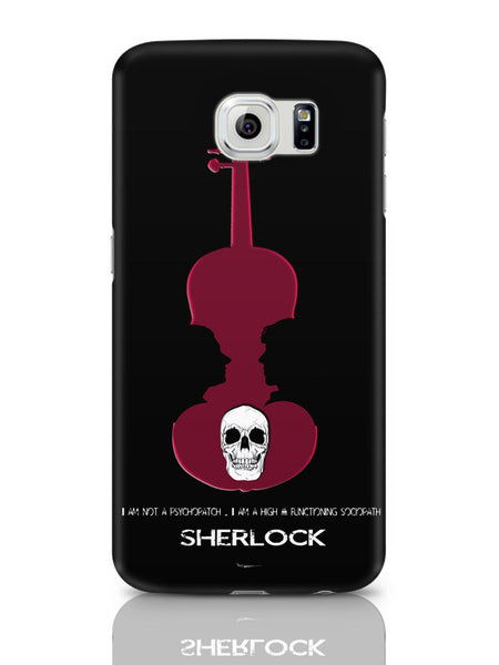 Samsung Galaxy S6 Covers & Cases | High Functioning Sociopath | Sherlock Holmes Samsung Galaxy S6 Covers & Cases Online India