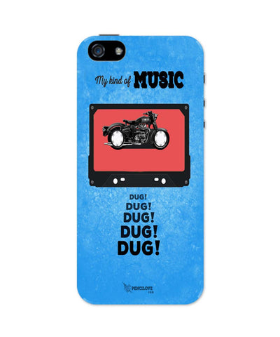 iPhone 5 / 5S Cases| My Kind Of Music | Royal Enfield iPhone 5 / 5S Case Online India