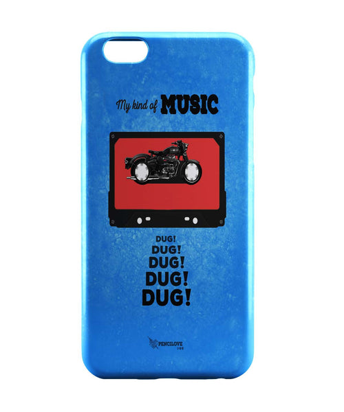 iPhone 6 Case & iPhone 6S Case | My Kind Of Music | Royal Enfield iPhone 6 | iPhone 6S Case Online India | PosterGuy