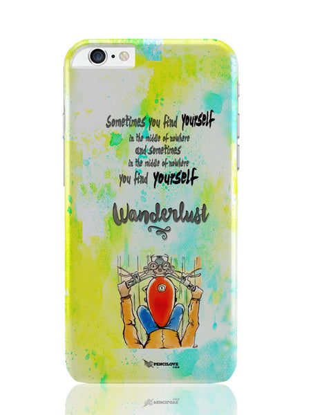 iPhone 6 Plus / 6S Plus Covers & Cases | In Middle Of Nowhere, You Find Yourself | Royal Enfield Inspired iPhone 6 Plus / 6S Plus Covers and Cases Online India