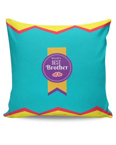 PosterGuy | World's Best Brother Cushion Cover Online India