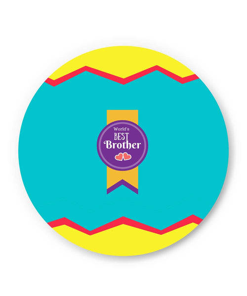 PosterGuy | World's Best Brother Fridge Magnet Online India by PencilLove