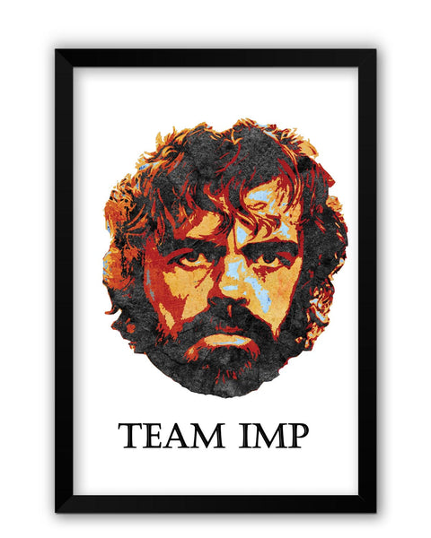 Framed Posters | Team Imp Tyrion Lanister Laminated Framed Poster Online India