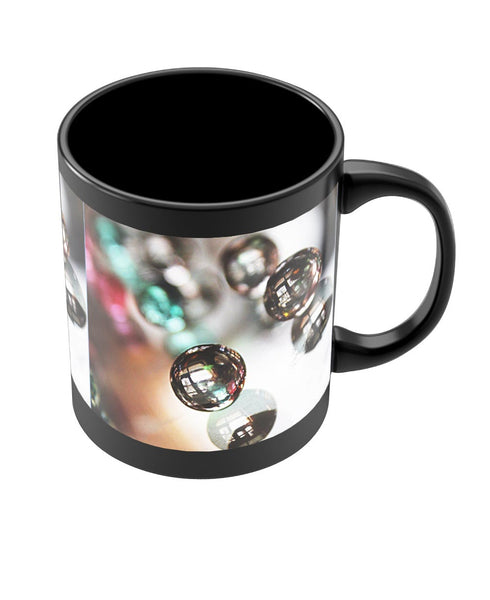 Coffee Mugs Online | Colorful Beads Black Coffee Mug Online India