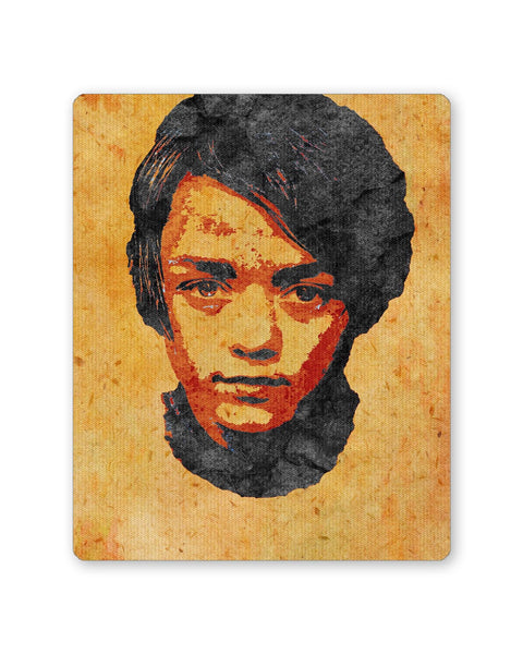 Buy Mousepads Online India | Arya Stark Pop Art Mouse Pad Online India