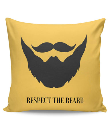 PosterGuy | Respect The Beard Cushion Cover Online India