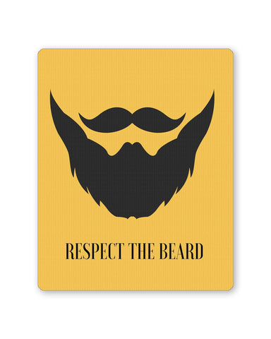 Buy Mousepads Online India | Respect The Beard Mouse Pad Online India