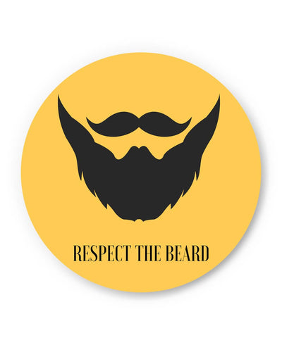 PosterGuy | Respect The Beard Fridge Magnet Online India by PKM Photography