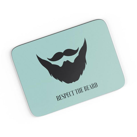 Respect The Beard (Blue) A4 Mousepad Online India