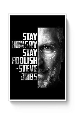 Posters Online | Steve Jobs Poster Online India | Designed by: PKM Photography