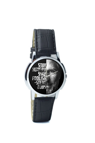 BigOwl Steve Jobs Men Analog Wrist Watch